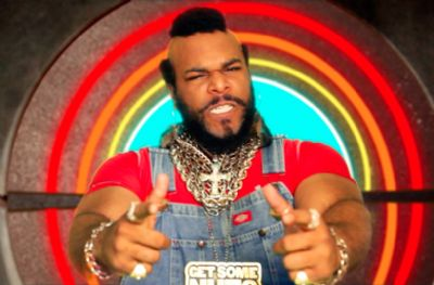 Mr T Lookalike